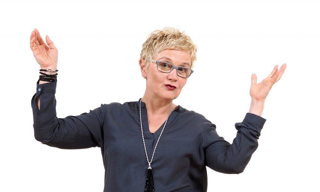 Coach Karin Striedl stellt die Begegnungen mit anderen Menschen in den Mittelpunkt.