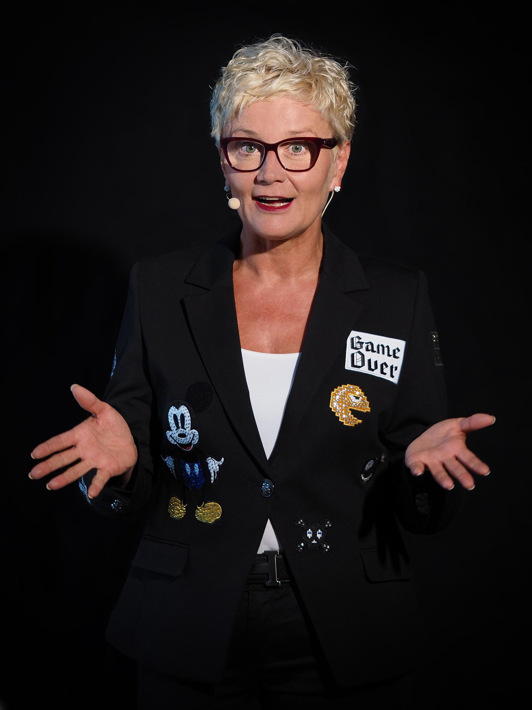 Karin Striedl erklärt ihre Vision.