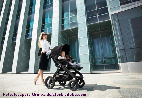 Stressmanagement ist für Mütter und Väter wichtig.